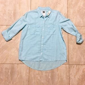 Gilly Hicks button down blouse